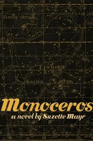 Cover image for Suzette Mayr's Monoceros