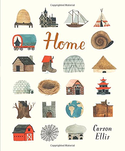 Home by carson ellis pickle me this for Different shapes of houses