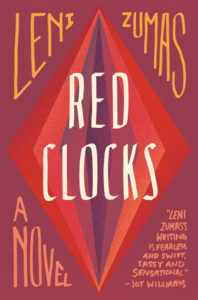 Book Cover Red Clocks